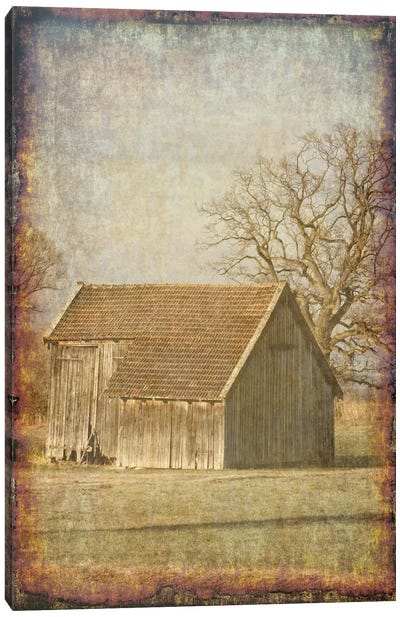 Old Farm View I Canvas Art Print