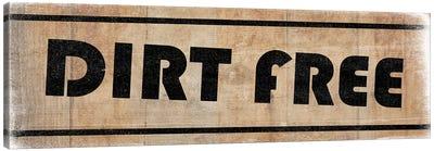 Dirt Free Canvas Art Print