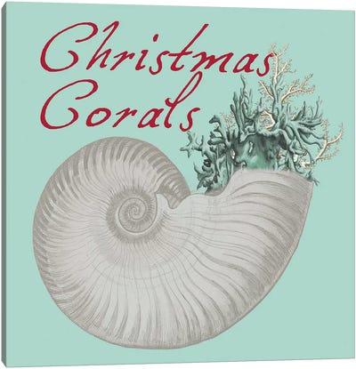 Christmas Corals Canvas Art Print