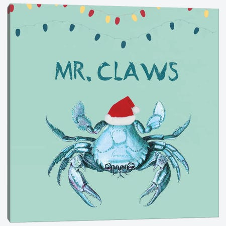 Mr Claws Canvas Print #LWS30} by Sheldon Lewis Canvas Wall Art