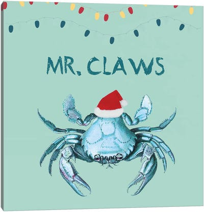 Mr Claws Canvas Art Print