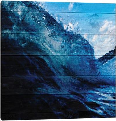 Blue Surf Canvas Art Print