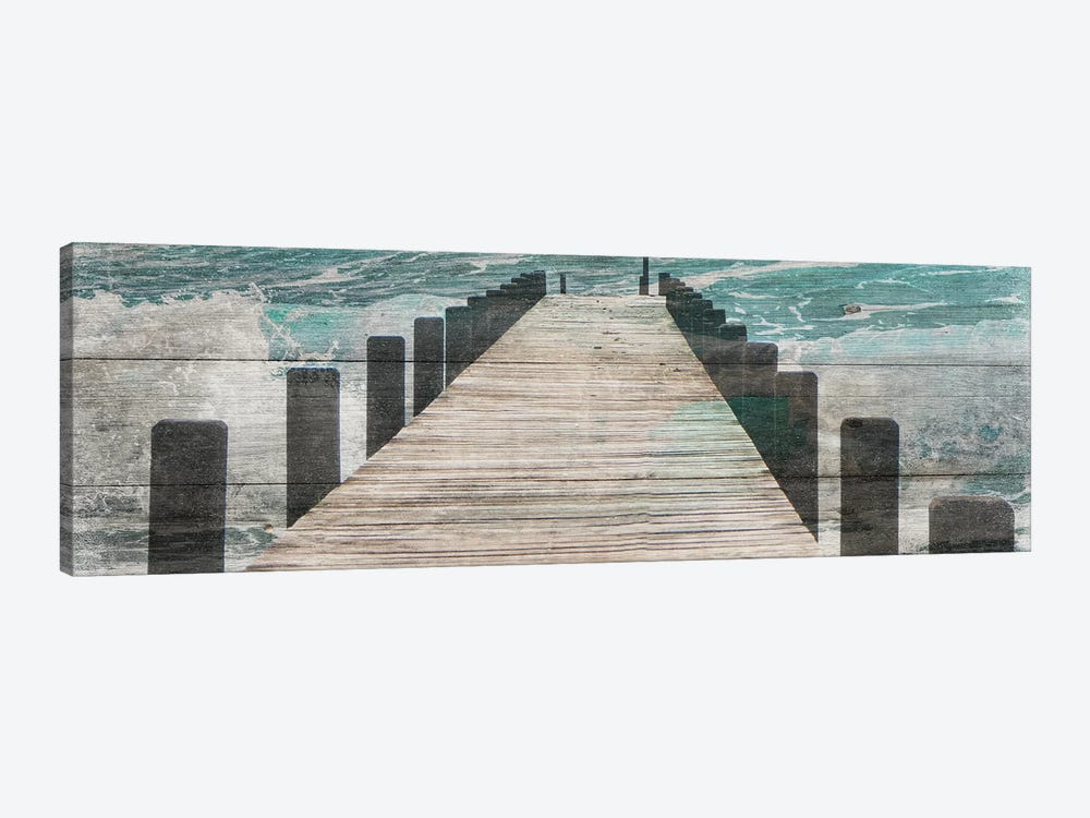 Jetty by Sheldon Lewis 1-piece Canvas Artwork