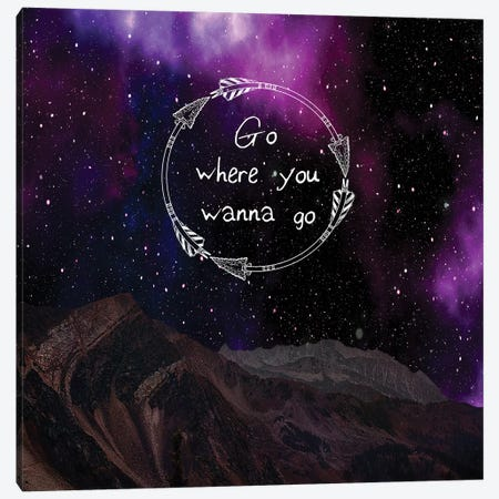 Go On Canvas Print #LWS8} by Sheldon Lewis Canvas Artwork