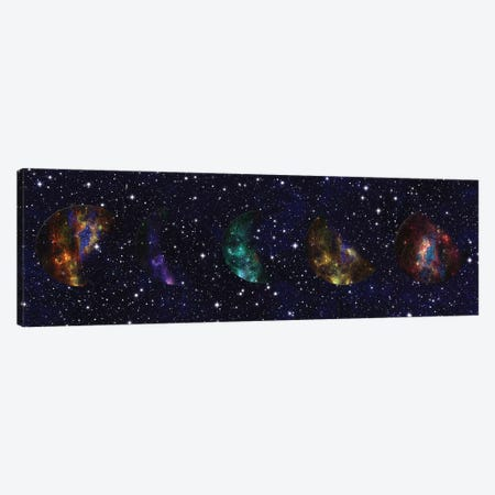 Hello From The Stars Canvas Print #LWS9} by Sheldon Lewis Canvas Artwork