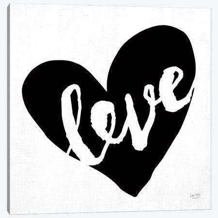 Love Canvas Print #LXM12} by Lux + Me Designs Canvas Wall Art