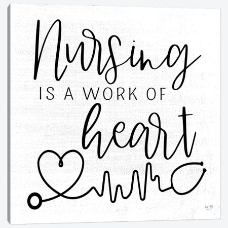 Nursing a Work of Heart Canvas Print #LXM17} by Lux + Me Designs Art Print