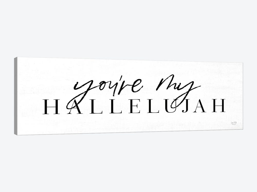You're My Hallelujah by Lux + Me Designs 1-piece Canvas Print
