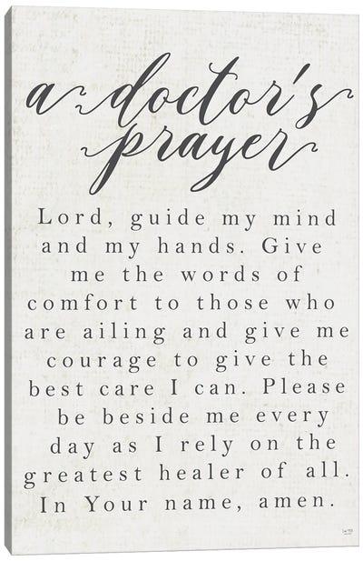 A Doctor's Prayer Canvas Art Print