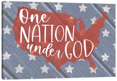 One Nation Under God Canvas Art Print