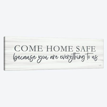 Come Home Safe Canvas Print #LXM73} by Lux + Me Designs Canvas Artwork
