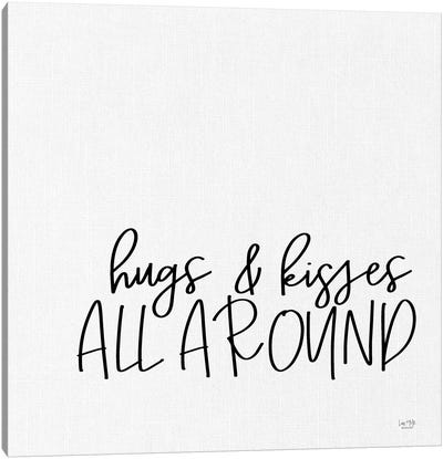 Hugs And Kisses Canvas Art Print