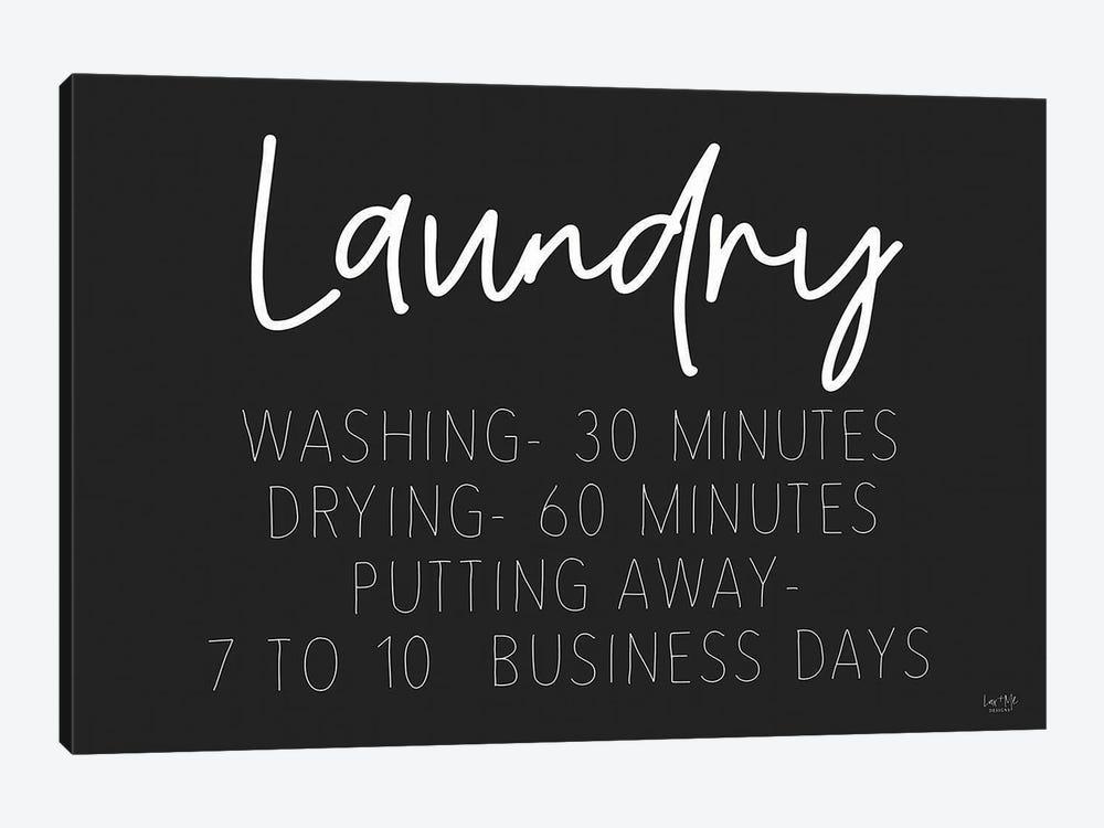 Laundry Schedule by Lux + Me Designs 1-piece Art Print