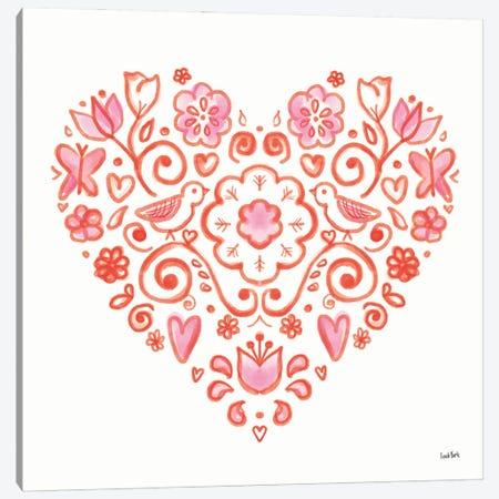 Kindness II Canvas Print #LYO6} by Leah York Canvas Wall Art