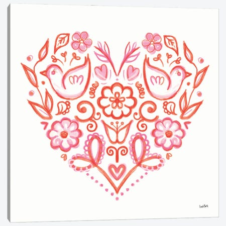 Kindness VI Canvas Print #LYO8} by Leah York Art Print
