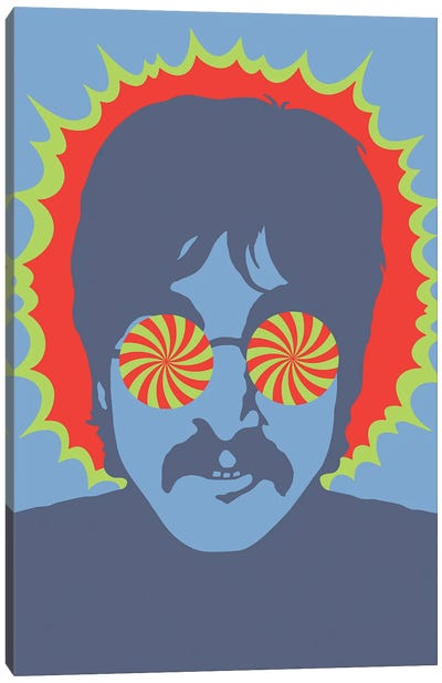 Lennon - Kaleidoscope Eyes, 1967 Canvas Art Print