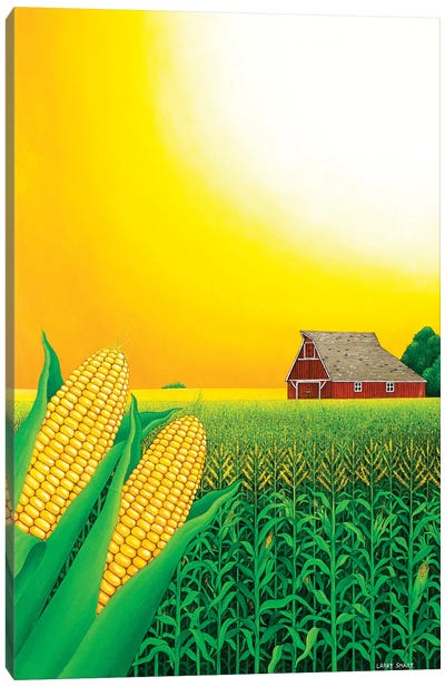 Nebraska Cornfield, 1993 Canvas Art Print