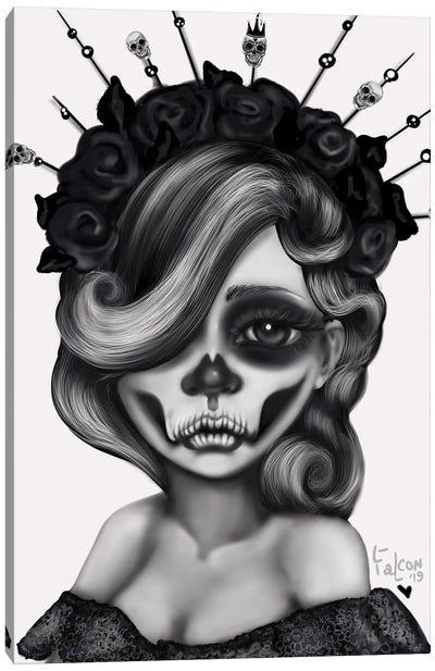 Queen Of The Dead Canvas Art Print