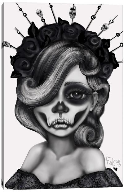 Queen Of The Dead Canvas Art Print