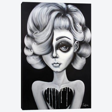 Bella Donna Canvas Print #LZF6} by Lizzy Falcon Canvas Art