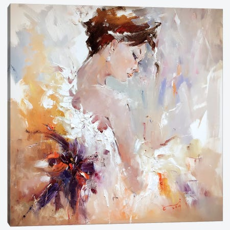 Flamenco III 3-Piece Canvas #LZH12} by Li Zhou Canvas Art