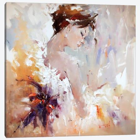 Flamenco III Canvas Print #LZH12} by Li Zhou Canvas Art
