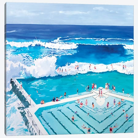 Love Life, Summer Canvas Print #LZH17} by Li Zhou Canvas Art Print