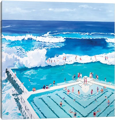 Love Life, Summer Canvas Art Print