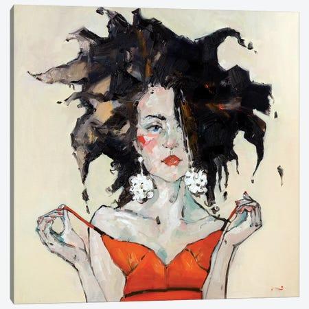 Nico Canvas Print #LZH21} by Li Zhou Canvas Art Print