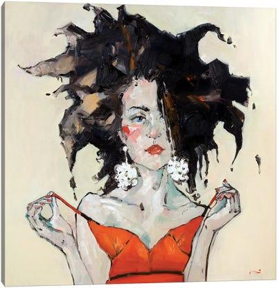 Nico Canvas Art Print