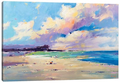 Private Beach VII Canvas Art Print