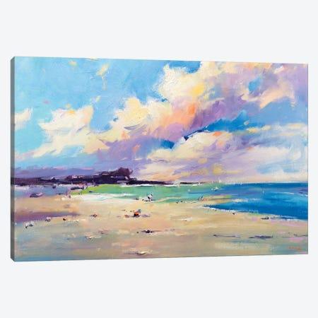Private Beach VII Canvas Print #LZH26} by Li Zhou Canvas Wall Art