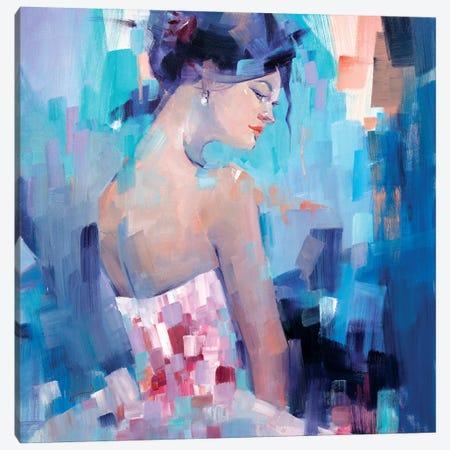 Rose Canvas Print #LZH29} by Li Zhou Canvas Art Print
