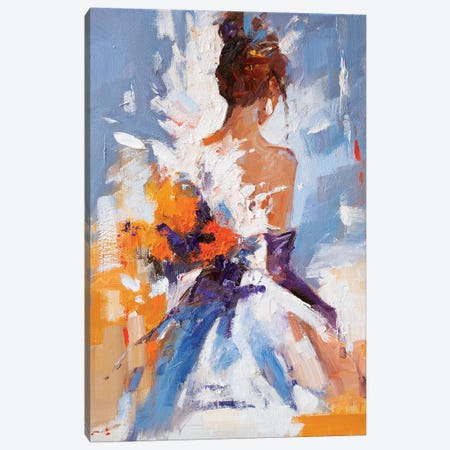 The Moment Of Joy Canvas Print #LZH40} by Li Zhou Canvas Art Print