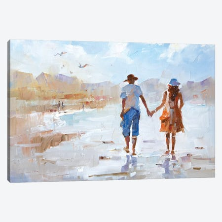 Us Canvas Print #LZH45} by Li Zhou Canvas Artwork
