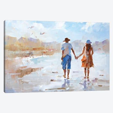 Us Canvas Print #LZH45} by Li Zhou Canvas Artwork
