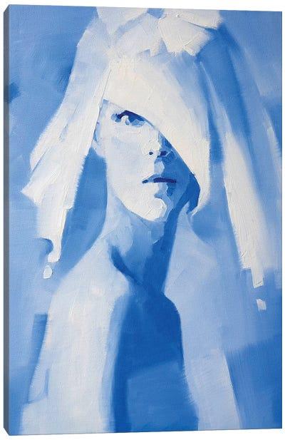 Heaven Blue Canvas Art Print