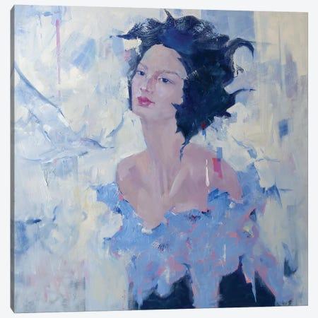 Wings Canvas Print #LZH49} by Li Zhou Canvas Print