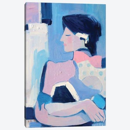 French Blue XVII Canvas Print #LZH52} by Li Zhou Canvas Wall Art