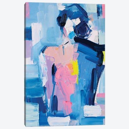 French Blue XVIII Canvas Print #LZH54} by Li Zhou Canvas Print