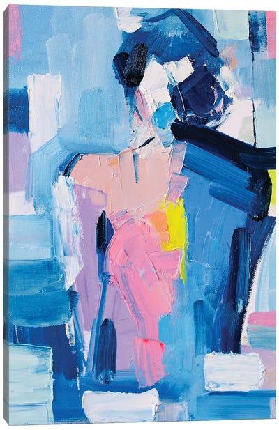 French Blue XVIII Canvas Art Print