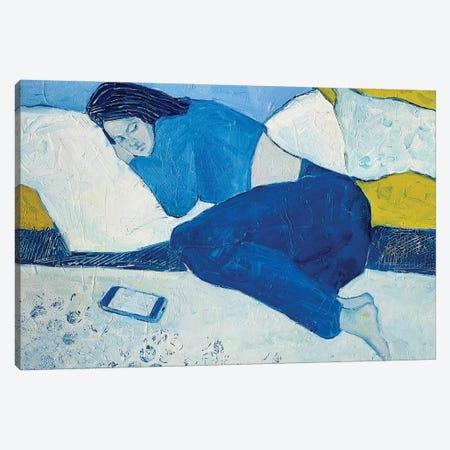 Modern Anxiety V Canvas Print #LZH59} by Li Zhou Canvas Wall Art
