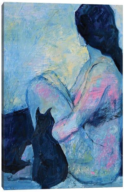 Modern Anxiety I Canvas Art Print