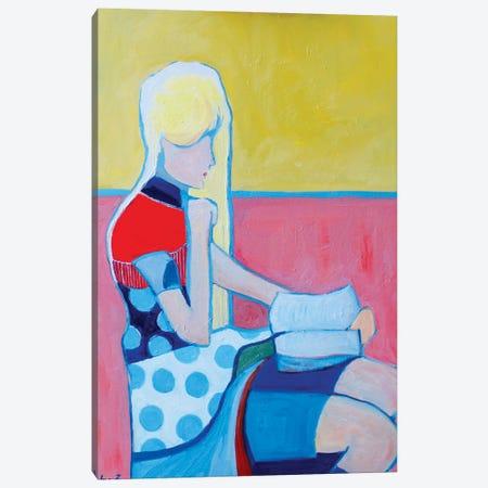 The Reader II Canvas Print #LZH68} by Li Zhou Canvas Print