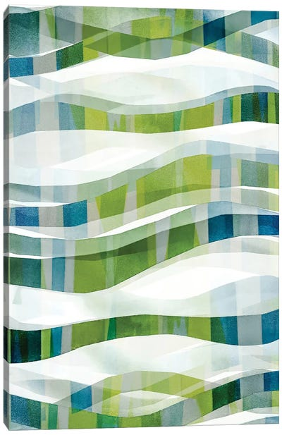 It Goes In Waves No. 1 Canvas Art Print