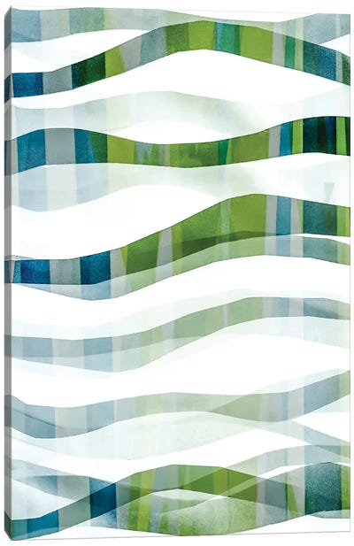 It Goes In Waves No. 2 Canvas Art Print