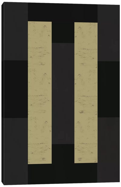 Modern Art - Parallel Brown Canvas Art Print