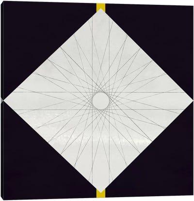 Modern Art-Geometric Pattern Concentric Circle Canvas Print #MA104