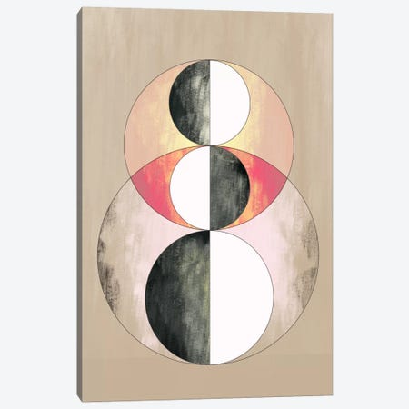Modern Art - Geometric Prism (After Delaunay) Canvas Print #MA110} by 5by5collective Canvas Print