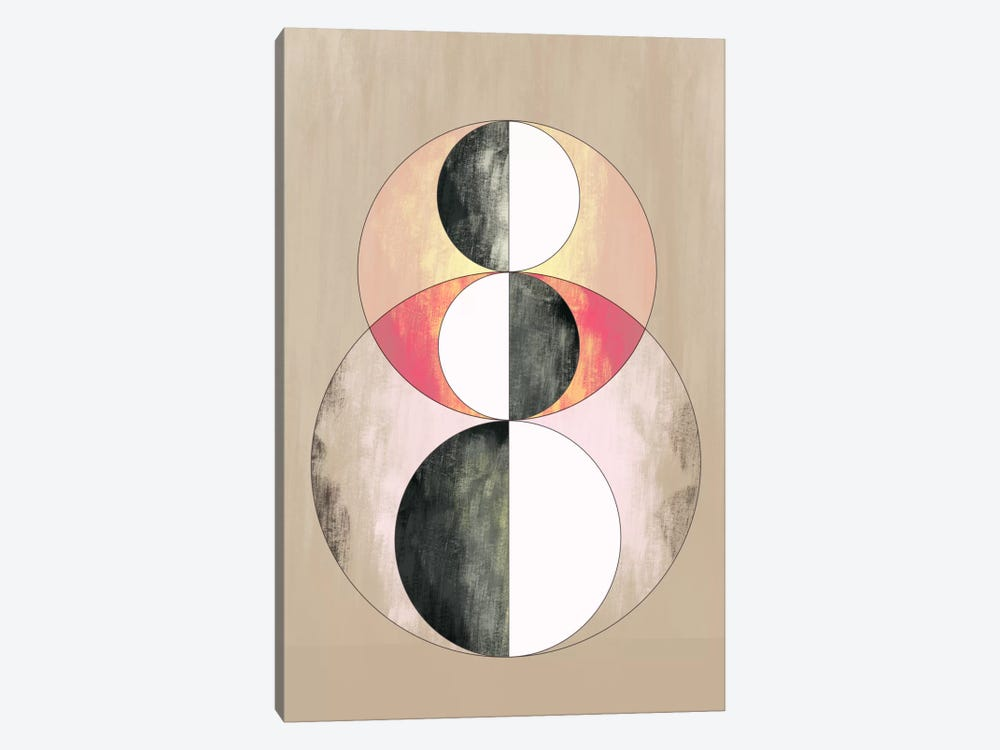 Modern Art - Geometric Prism (After Delaunay) by 5by5collective 1-piece Canvas Print